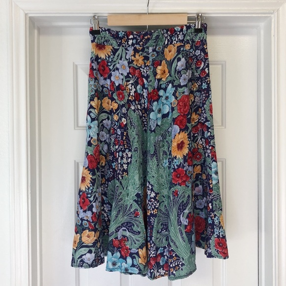 Young Timers Dresses & Skirts - Authentic Vintage Young Timers Floral Skirt